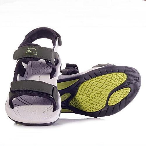 Мужская Матовая кожа резиновая подошва Открытый Сандалии Рыбалка обувь белый и серый Lightinthebox 1202.000