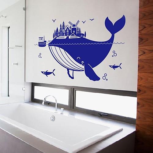 Животные Большой кит стены стикеры Lightinthebox 1288.000