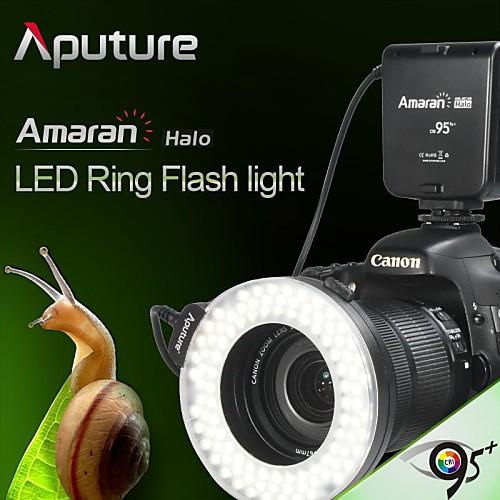 Aputure Amaran 95 CRI  гало АХЛ-HC100 привело макро кольцо камеры вспышки света для канона f951 Lightinthebox 1417.000