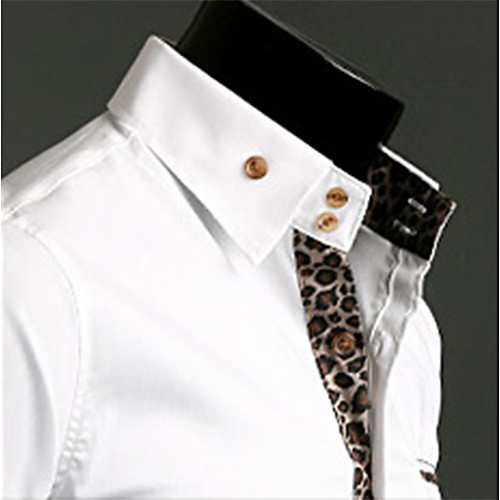 Мужская мода леопардовый рубашка Lightinthebox 893.000