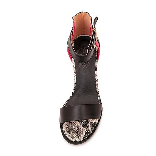 Теленок женских волос Коренастый пятки открытым носком сандалии с заклепки обувь Lightinthebox 2577.000