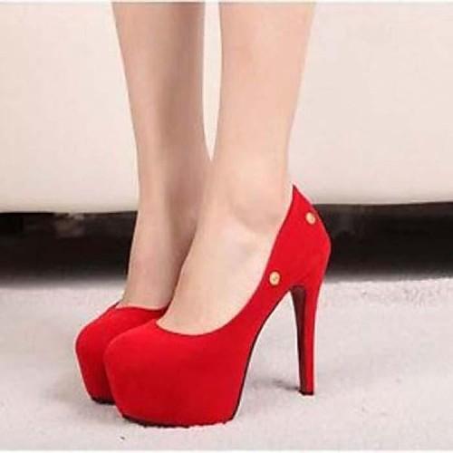 Замши женщин Свадьба стилет каблук насосы каблуки обуви (больше цветов) Lightinthebox 1288.000