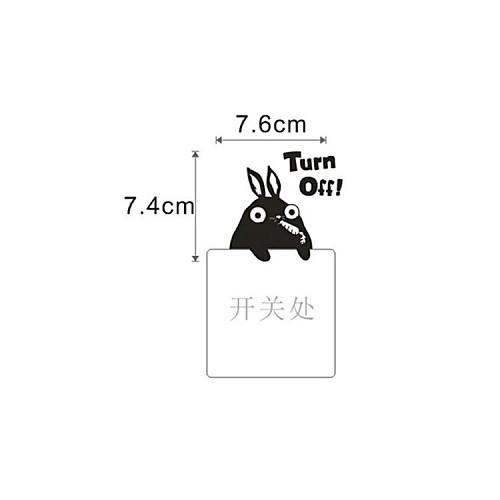 Животные Кролик стикер Switch стены стикеры Lightinthebox 386.000