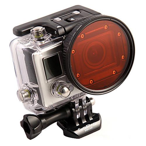 Адаптер Professional Профессиональная погружения корпуса 58 мм объектива  красный фильтр для GoPro Hero3 Lightinthebox 1129.000