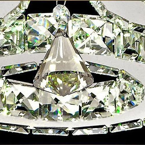 Светодиодные Кристалл заподлицо, 5 огни, Современная Прозрачный гальванических нержавеющей стали Lightinthebox 10312.000