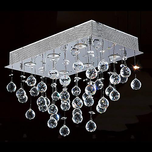 кристалл скрытой установки, 6 свет, современный минималистский железа гальванических Lightinthebox 6874.000