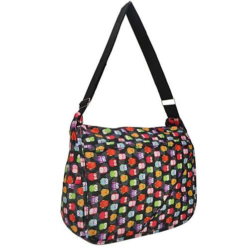 Женская Сова Печать плече сумки Мода Почтовый Посланник