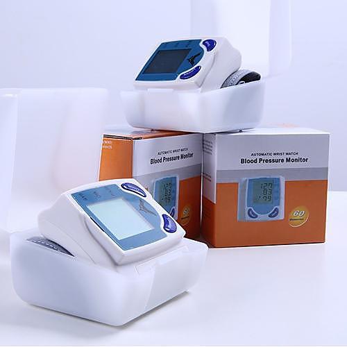 Автоматическая цифровая наручные Монитор артериального давления Heart Beat Meter Sphygmomanometer предотвратить гипертонию Lightinthebox 1245.000
