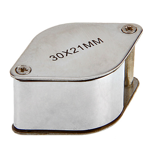 30X 30x21mm ромб складывая ювелира глаз Лупа Лупа увеличительное стекло микроскопа Lightinthebox 214.000