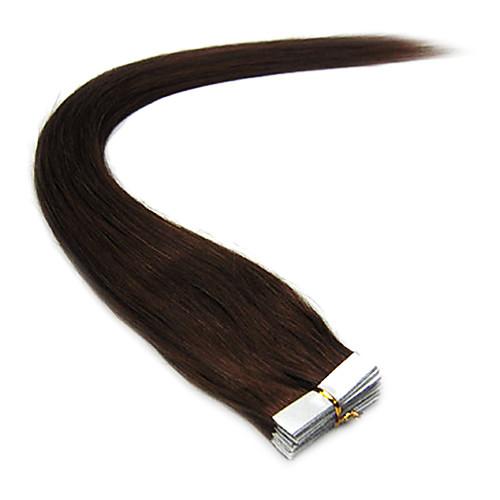 Реми 16 дюймов Прямой ленты в наращивание волос 30g/20pcs Более темные цвета Lightinthebox 1073.000