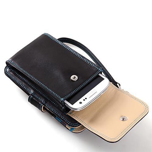 Роскошные Испания полное зерно Корова кожаный кошелек с мобильного телефона Pockeet и держатель карты Place Lightinthebox 2964.000