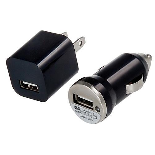 3 в 1 Зарядное устройство USB кабель яблоко 8 контактный нам подключить автомобильное зарядное устройство с розничной коробке для Iphone и Samsung Lightinthebox 214.000