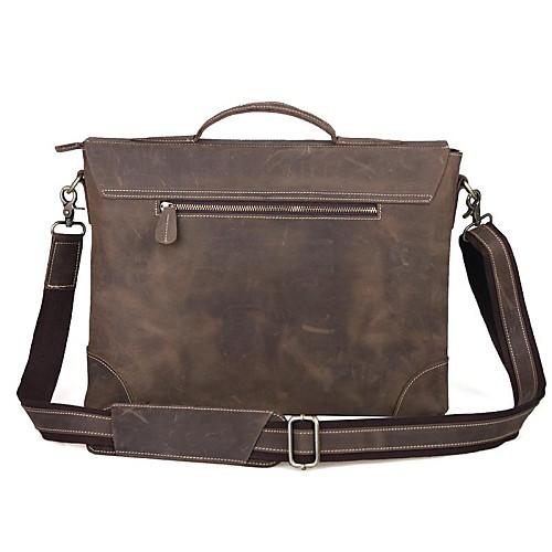 Клининг Men Ретро коричневый Сумочка с кожаными Lightinthebox 4726.000
