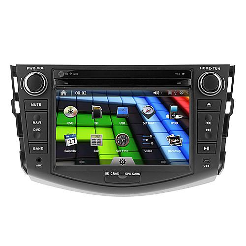 7Inch 2 Дин В-Dash DVD-плеер автомобиля для Toyota RAV4 2006-2012 с GPS, BT, IPOD, RDS, FM, Сенсорный экран Lightinthebox 8980.000