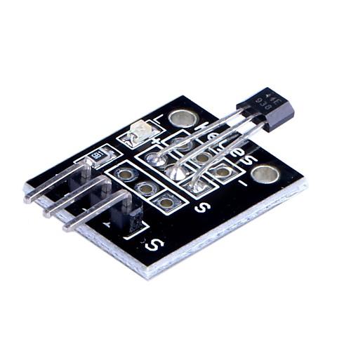 Arduino Холла Магнитный датчик Модуль (DC 5V) - черный Lightinthebox 472.000