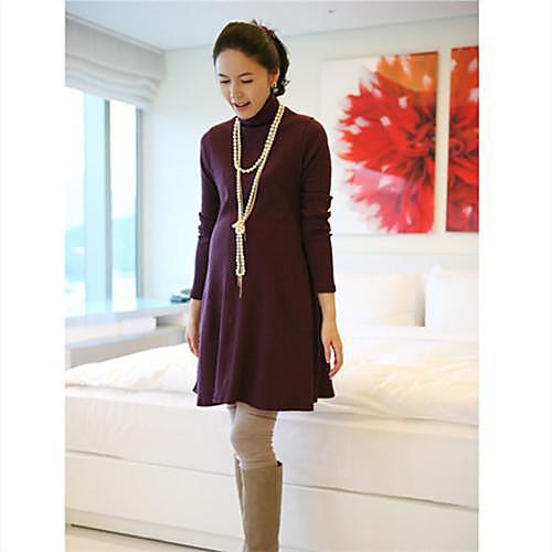 2014 Материнство Одежда Осень трикотажные Весна свободные длинные Дизайн Основные рубашка свитер Lightinthebox 809.000