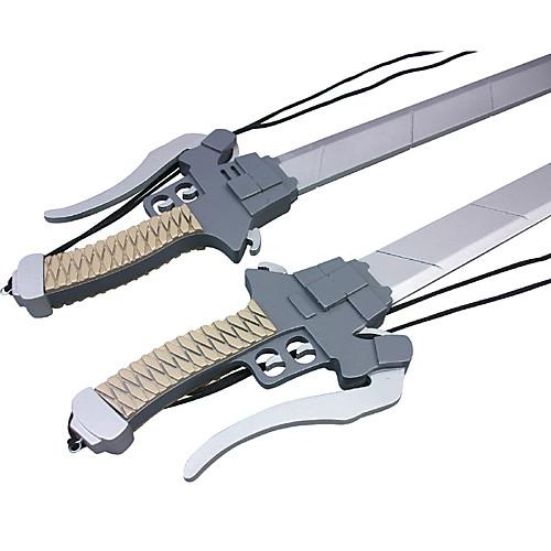 Нападение на Титан Mikasa Аккерман Двухместный Косплей Меч Lightinthebox 3437.000