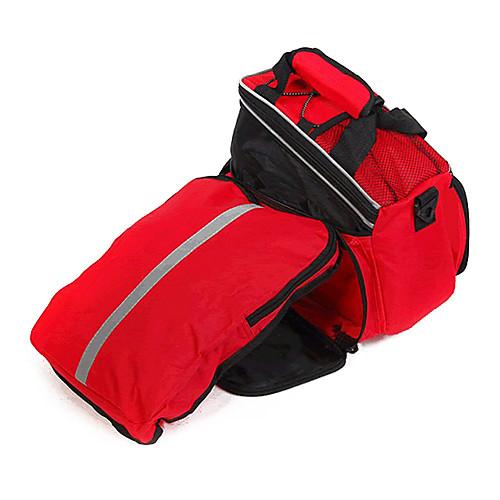 FJQXZ прочная нейлоновая и водонепроницаемый красный Перевозки сумка с крышкой дождя Lightinthebox 1073.000