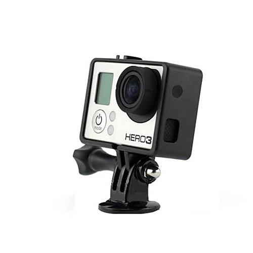 Черный Портативный Пластиковые Исправлена кадров чехол для GoPro Hero 3 Lightinthebox 730.000