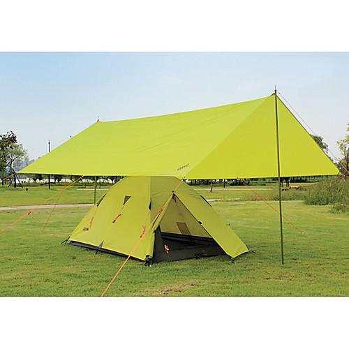 ODC Затмение Зеленый 210T Ripstop полиэстер Кемпинг Приют (без полюса) Lightinthebox 2577.000