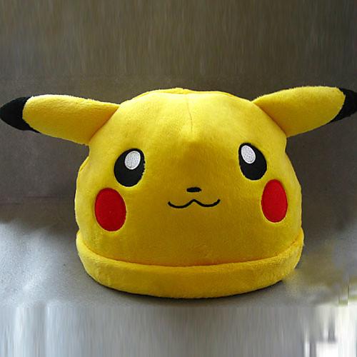 Покемон Пикачу Симпатичные Косплей Плюшевые Hat Lightinthebox 644.000