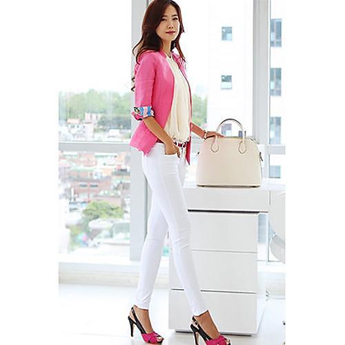 Женские Solide Цвет узкие брюки Lightinthebox 865.000