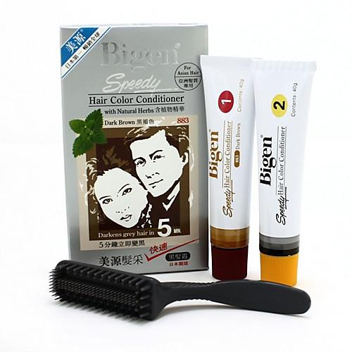 Bigen Цвет волос Кондиционер # 883 (темно-коричневый) 1Set Lightinthebox 586.000