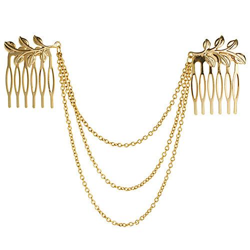 Canlyn Женская мода Листья с цепью Ободки Lightinthebox 85.000