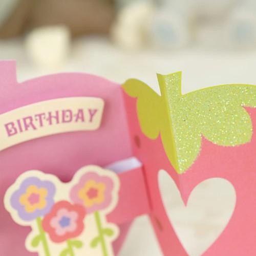 Клубника Дизайн двойной затвор-Fold открытки на День рождения Lightinthebox 23.000