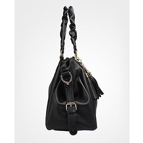 Gmn Женская Европа Мода одно плечо сумка (черный) Lightinthebox 858.000