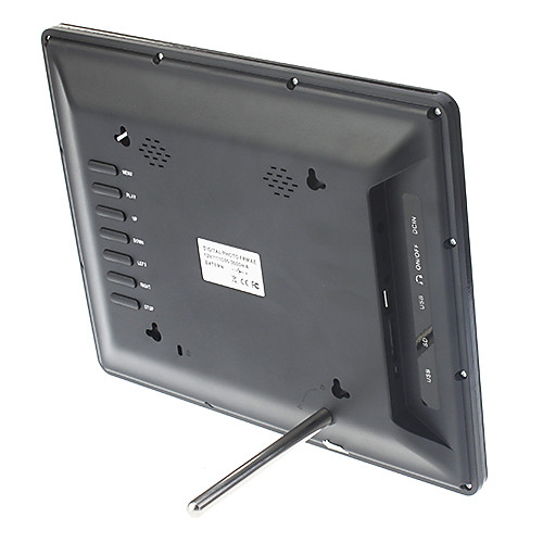 12-Инче Многофункциональная цифровая фоторамка (черный / белый)