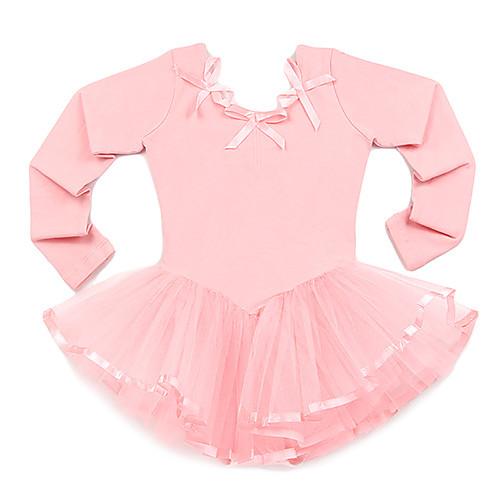 Танцевальная одежда Детская лайкра тюль с длинным рукавом Бальные балета юбки / пачки Lightinthebox 1030.000