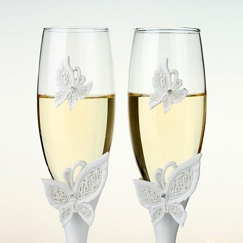 Бабочка дизайн флейты свадьбе тосты Lightinthebox 654.000