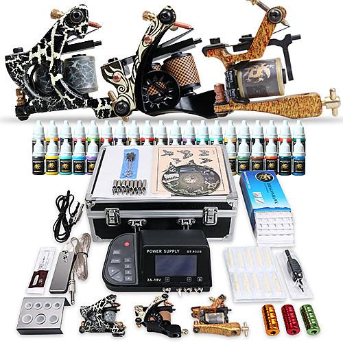 Профессиональный набор татуировки 3 Лучшие машины 40 цветных чернил питания Lightinthebox 6230.000