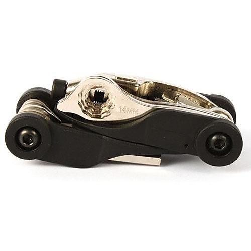 Инструмент Велоспорт Черный углеродистая сталь велосипедов Многофункциональный Ремонтный комплект Lightinthebox 558.000