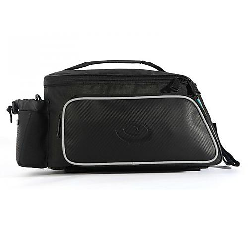 Велоспорт кожи волокна углерода Черный противоударный износостойких Вернуться сумка сиденья Lightinthebox 1288.000