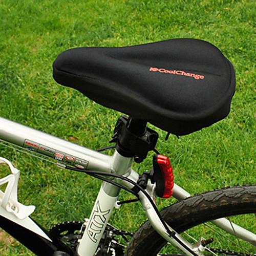 CoolChange 3D Силикагель дышащий Черный велосипедов Седло Подушка Lightinthebox 214.000