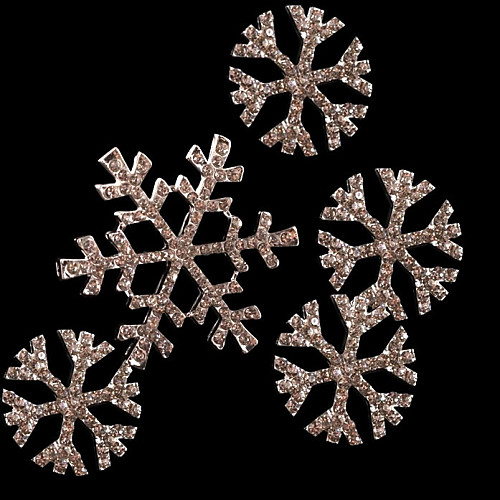 Замороженные Снежная королева Эльза Серебряный Снежинки Косплей головной убор (4 шт) Lightinthebox 558.000