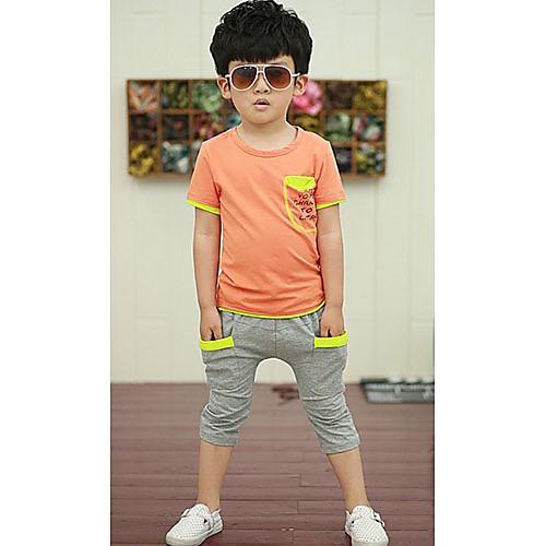 Повседневная Производительность Мальчика Носите двух частей Одежда наборы Lightinthebox 773.000