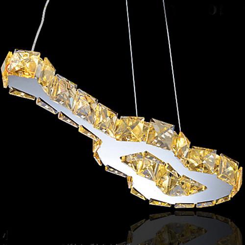 гитара дизайн кулон, 9 свет, творческий нержавеющей стали кристалл гальванических Lightinthebox 4296.000