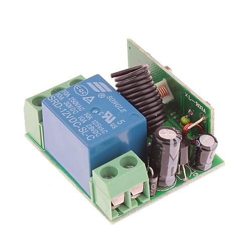 VGG10 DC 12V 315MHz 1-канальный беспроводной пульт дистанционного с дистанционным управлением Lightinthebox 515.000