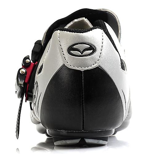 Спортивная велосипедная обувь с подошвой из стекловолокна и кожаным верхом Lightinthebox 2577.000