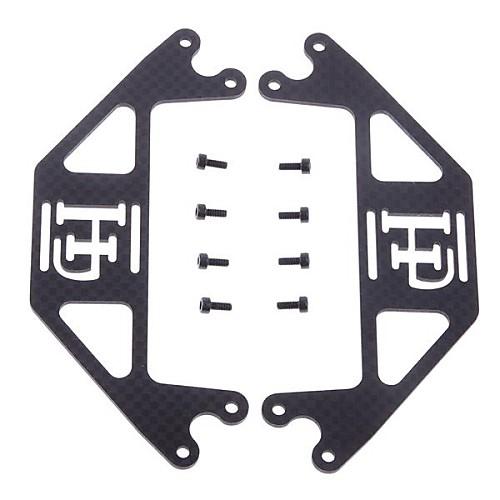 DJI Phantom углерода 3K Двухместный батареи Опорная / Опорная плита / Настольные ж / 4 шт батареи Ремни Lightinthebox 773.000