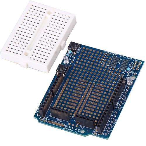 Прототип Щит Плата расширения с мини Макет для Arduino Lightinthebox 214.000