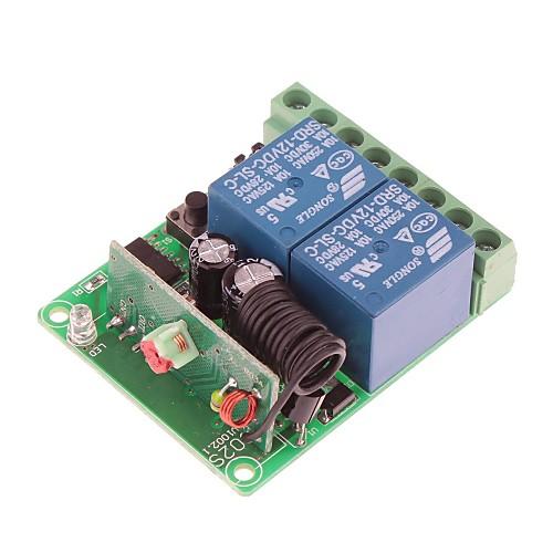 VGG06 DC 12V 315MHz 2-канальный беспроводной пульт дистанционного переключателя 2-Пульты дистанционного управления Lightinthebox 558.000