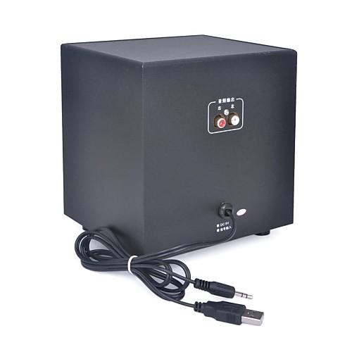 MX-606 2.1-канальный USB компьютера сабвуфер с Мультимедийная акустика - черный Lightinthebox 1159.000