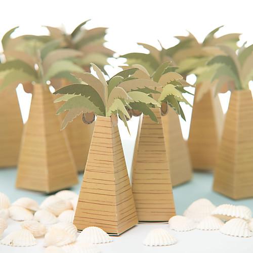 Коробка для сувениров в форме кокосовой пальмы (комплект из 12) Lightinthebox 257.000