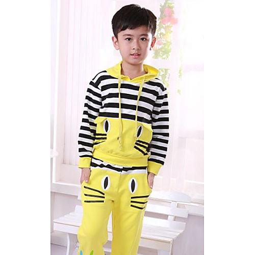 Мальчика Cartoon Повседневная с длинным рукавом Одежда наборы Lightinthebox 2277.000