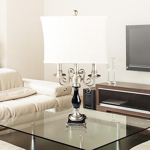 Урожай Элегантный Свет металлический стол с тканью тень в симметричной конструкции Lightinthebox 6874.000