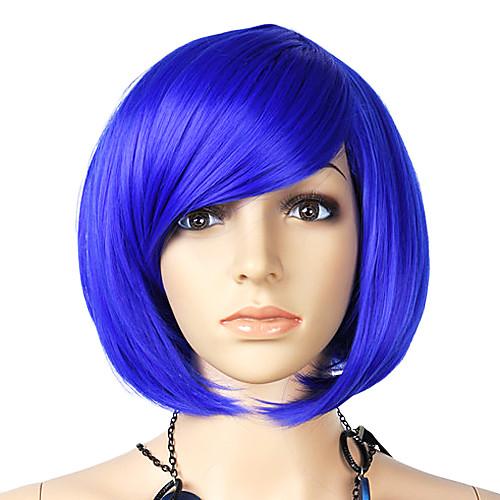 Короткие прямые синтетический парик сторону взрыва Несколько Цвета Lightinthebox 773.000